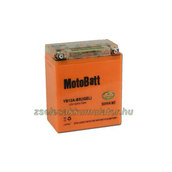 MotoBatt IGEL YB12A-BS I-GEL12V 12Ah Motor akkumulátor