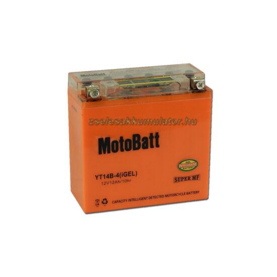 MotoBatt IGEL YT14B-4 I-GEL12V 12Ah Motor akkumulátor