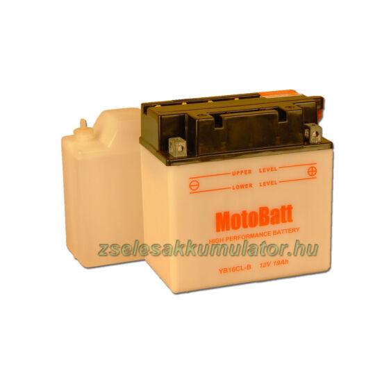MotoBatt YB16CL-B (sav csomagos) 12V 19Ah Motor akkumulátor