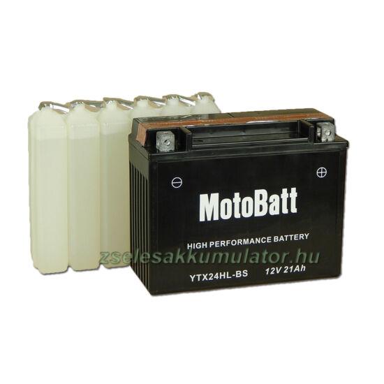 MotoBatt YTX24HL-BS 12V 21Ah Motor akkumulátor