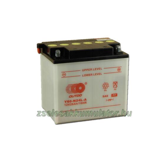 OUTDO Y60-N24L-A 12V 28Ah Motor akkumulátor