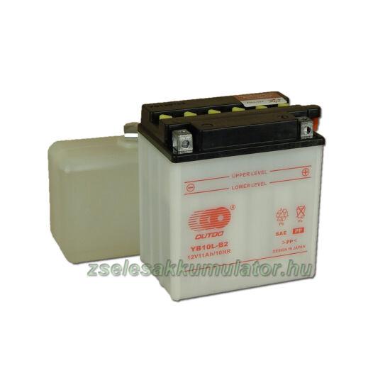 OUTDO YB10L-B2 (sav csomagos) 12V 11Ah Motor akkumulátor