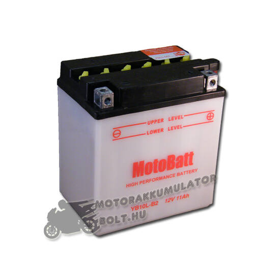 MotoBatt YB10L-B2 12V 11Ah Motor akkumulátor