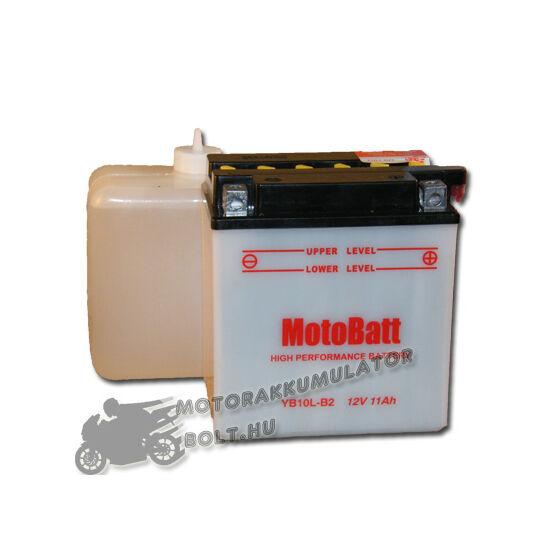 MotoBatt YB10L-B2 (sav csomagos) 12V 11Ah Motor akkumulátor