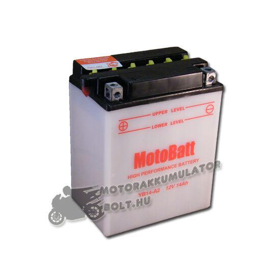 MotoBatt YB14-A2 12V 14Ah Motor akkumulátor