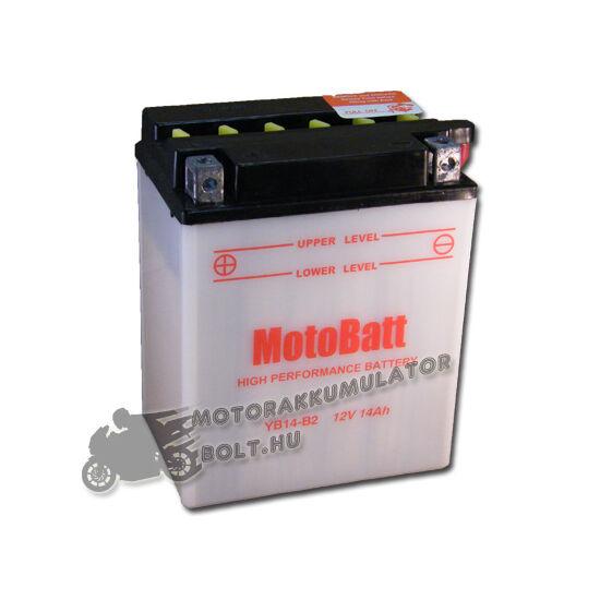 MotoBatt YB14-B2 12V 14Ah Motor akkumulátor