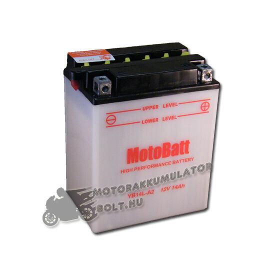 MotoBatt YB14L-A2 12V 14Ah Motor akkumulátor