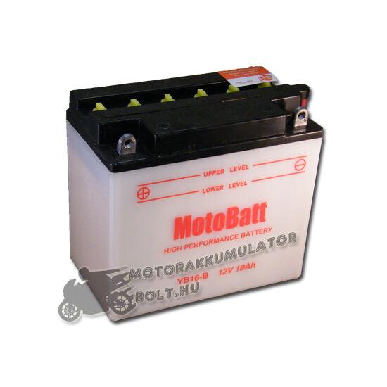 MotoBatt YB16-B (sav csomagos) 12V 19Ah Motor akkumulátor