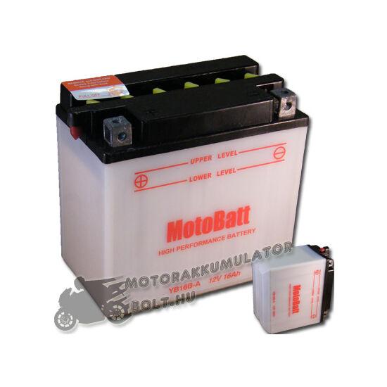 MotoBatt YB16B-A 12V 16Ah Motor akkumulátor