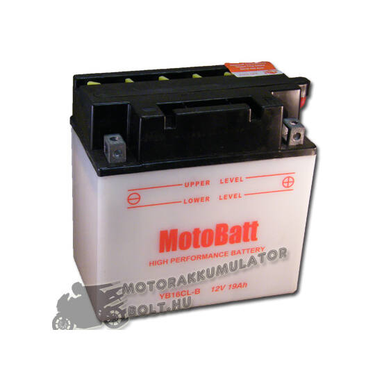 MotoBatt YB16CL-B 12V 19Ah Motor akkumulátor