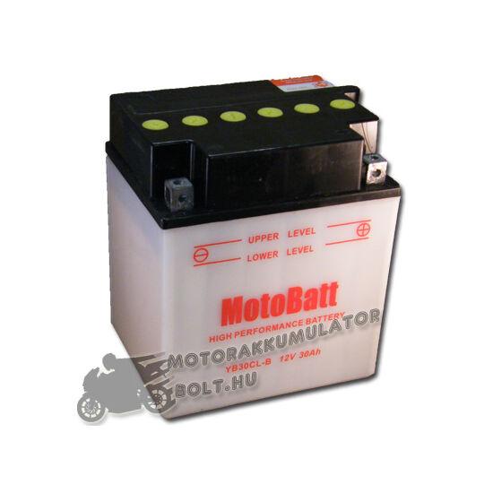 MotoBatt YB30CL-B 12V 30Ah Motor akkumulátor