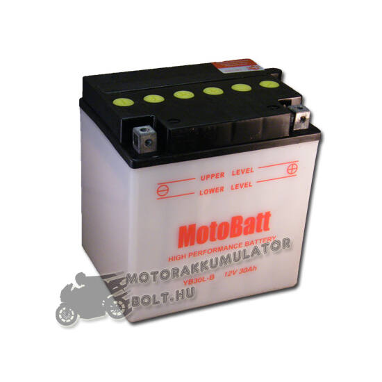 MotoBatt YB30L-B 12V 30Ah Motor akkumulátor