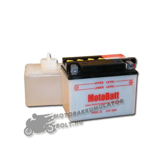 MotoBatt YB4L-B (sav csomagos) 12V 4Ah Motor akkumulátor