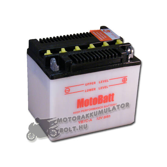 MotoBatt YB7C-A 12V 8Ah Motor akkumulátor