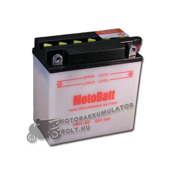 MotoBatt YB7L-B2 12V 8Ah Motor akkumulátor