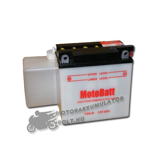 MotoBatt YB9-B (sav csomagos) 12V 9Ah Motor akkumulátor