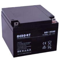 Reddot-12V-28Ah-zselés-akkumulátor-DD12280