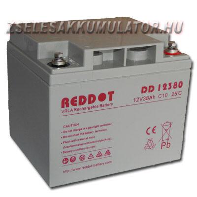 RedDot 12V 38Ah Zselés akkumulátor