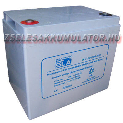APC SLA 12V 75Ah Zselés akkumulátor