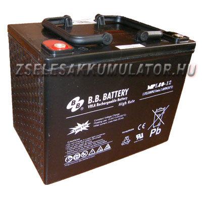 BB Battery 12V 80Ah Zselés akkumulátor