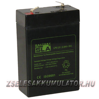 APC SLA 6V 2,8Ah Zselés akkumulátor