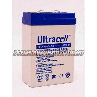 Ultracell 6V 2,8Ah Zselés akkumulátor