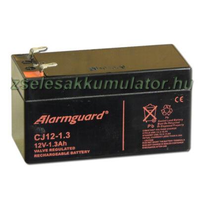Alarmguard 12V 1,3Ah Zselés akkumulátor CJ 12-1,3