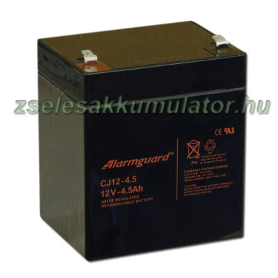 Alarmguard 12V 4,5Ah Zselés akkumulátor CJ 12-4,5