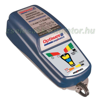 TecMate Optimate 6 akkumulátor töltő