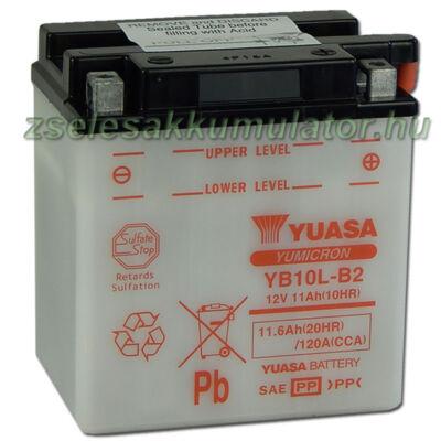 Yuasa YB10L-B2 12V 11Ah Motor akkumulátor