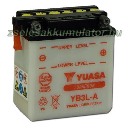Yuasa YB3L-A 12V 3Ah Motor akkumulátor
