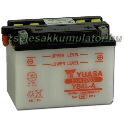 Yuasa YB4L-A 12V 4Ah Motor akkumulátor
