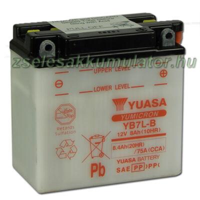 Yuasa YB7L-B 12V 8Ah Motor akkumulátor