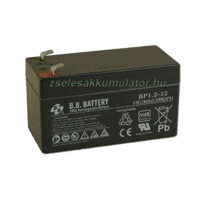 BB Battery 12V 1,2Ah Zselés akkumulátor