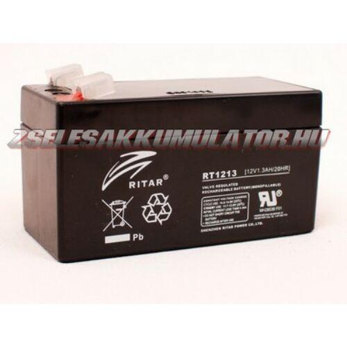 Ritar 12V 1,3Ah Zselés akkumulátor