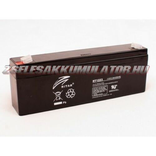 Ritar 12V 2,3Ah Zselés akkumulátor
