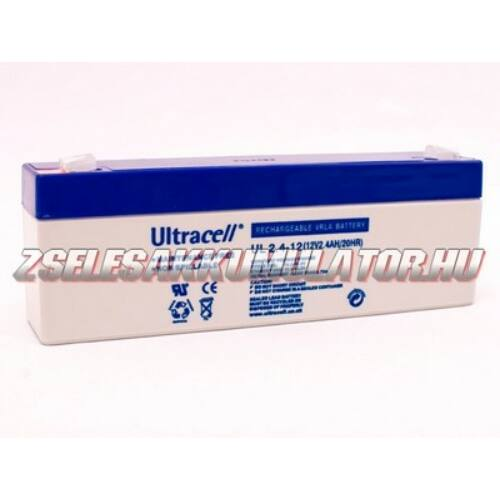 Ultracell 12V 2,4Ah Zselés akkumulátor