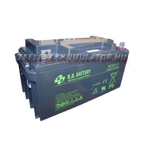 BB Battery 12V 65Ah Zselés akkumulátor inverterhez akciós