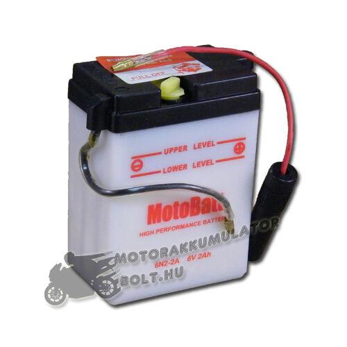 MotoBatt  6N2-2A 6V 2Ah Motor akkumulátor