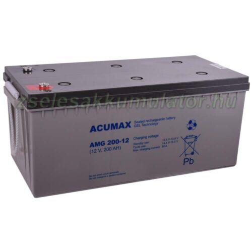 Acumax AMG 200-12 Gél akkumulátor