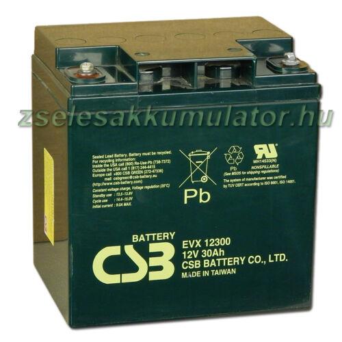 CSB 12V 30Ah Zselés Akkumulátor EVX 12300