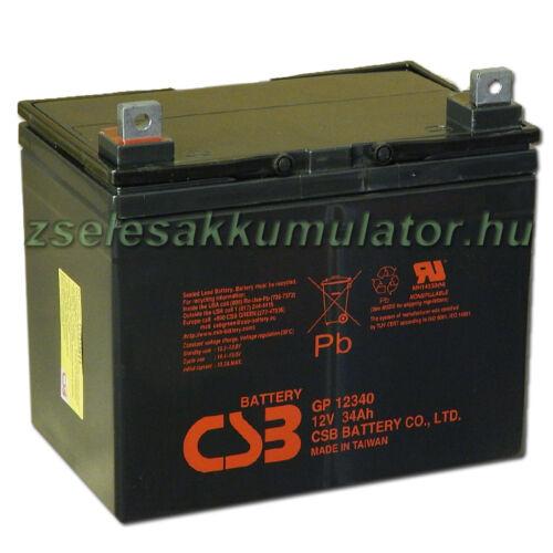 CSB 12V 34Ah Zselés Akkumulátor GP 12340