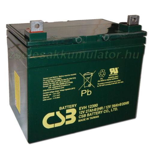 CSB 12V 39Ah Zselés Akkumulátor EVH12390