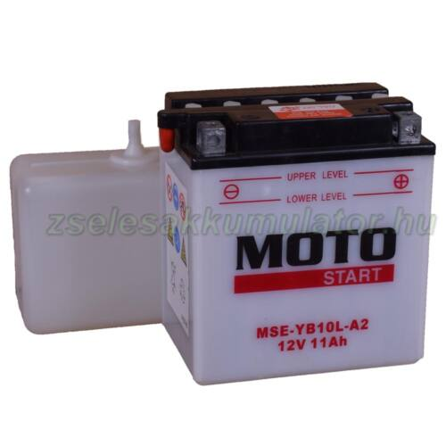 Motostart YB10L-A2 (sav csomagos) 12V 11Ah Motor akkumulátor
