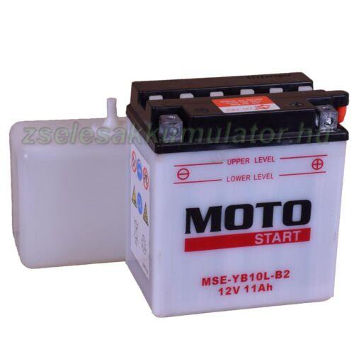 Motostart YB10L-B2 12V 11Ah Motor akkumulátor