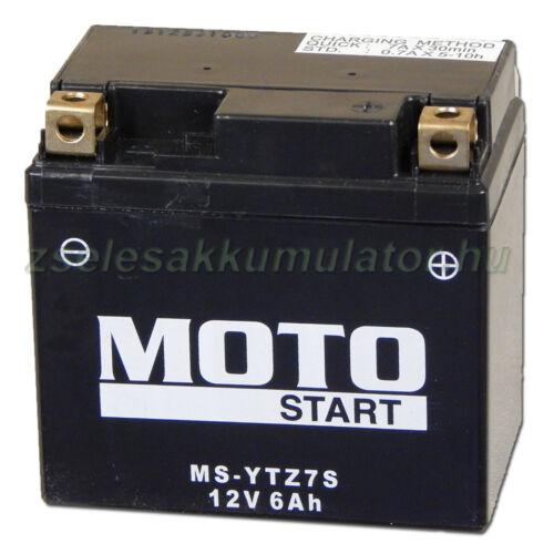 MotoSTART YTZ7S 12V 6Ah gondozásmentes AGM (zselés) motor akkumulátor