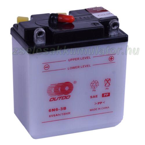Outdo 6N6-3B motor akkumulátor