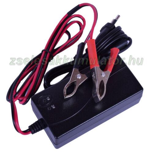 Zselés akkumulátor töltő 12V 3,5A töltőáram
