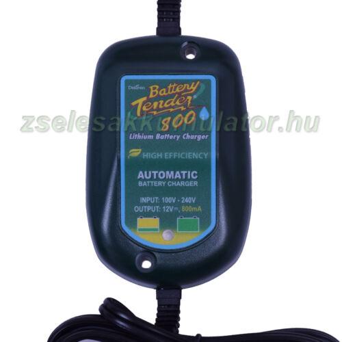 Battery Tender  800 Líthium  akkumulátor töltő 12V 0,8A töltőáram