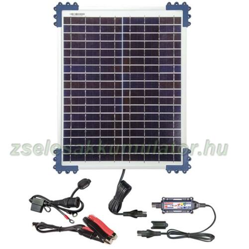 Optimate Solar 20W napelemes töltő